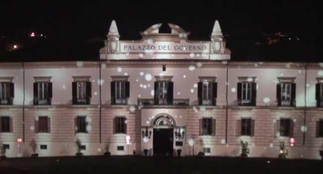 Video Mapping – Piazza XV Marzo